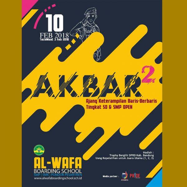 AKBAR (Ajang Keterampilan Baris Berbaris) II 2018