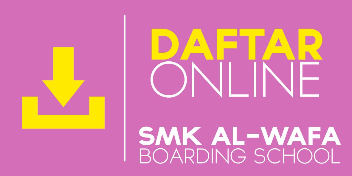 Tombol Daftar Online SMK