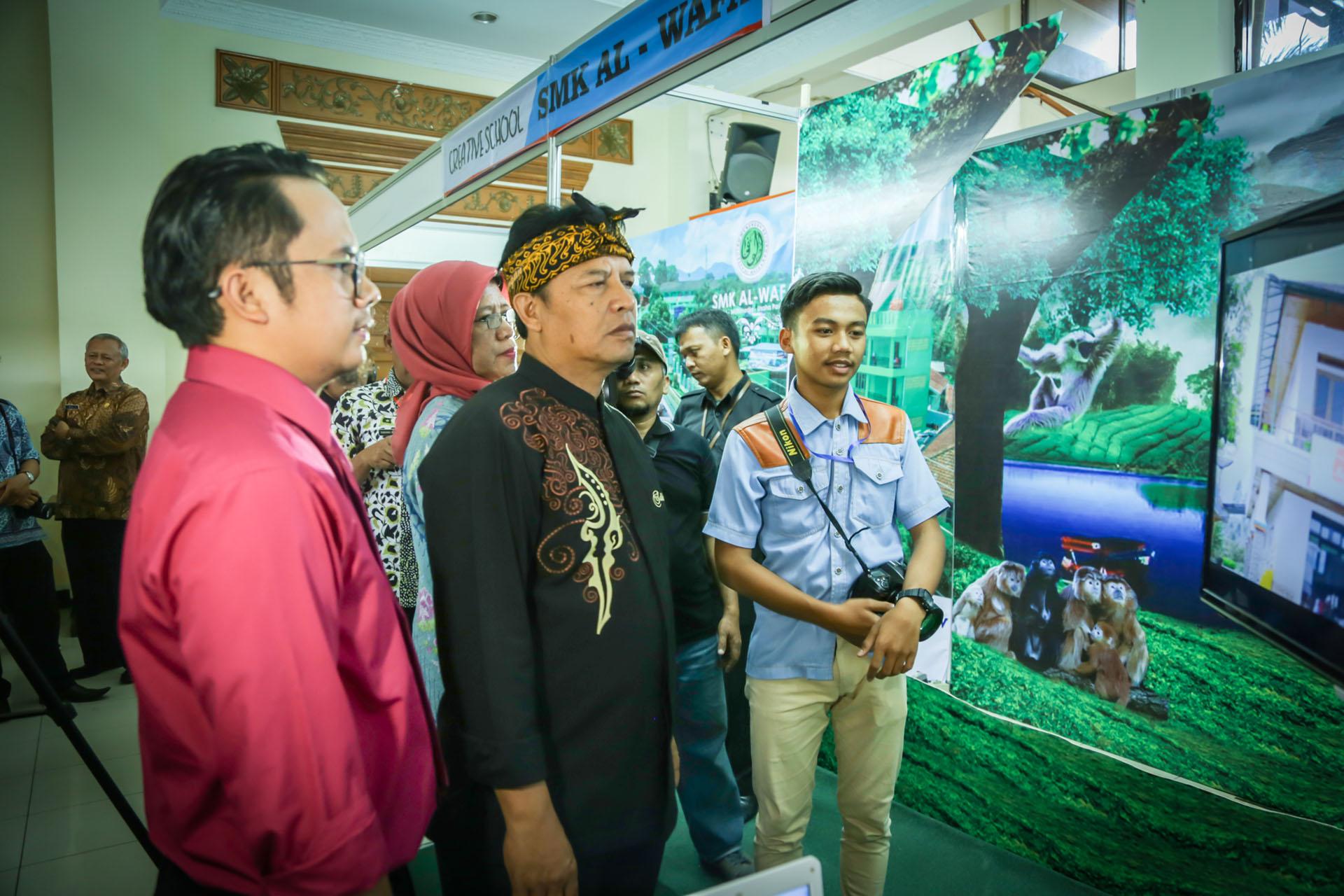 Pameran Teknologi Dinas Komunikasi dan Informasi (Diskominfo) Kab.Bandung